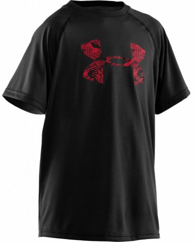 Under Armour Boys Big Logo Tech Tee Shirt