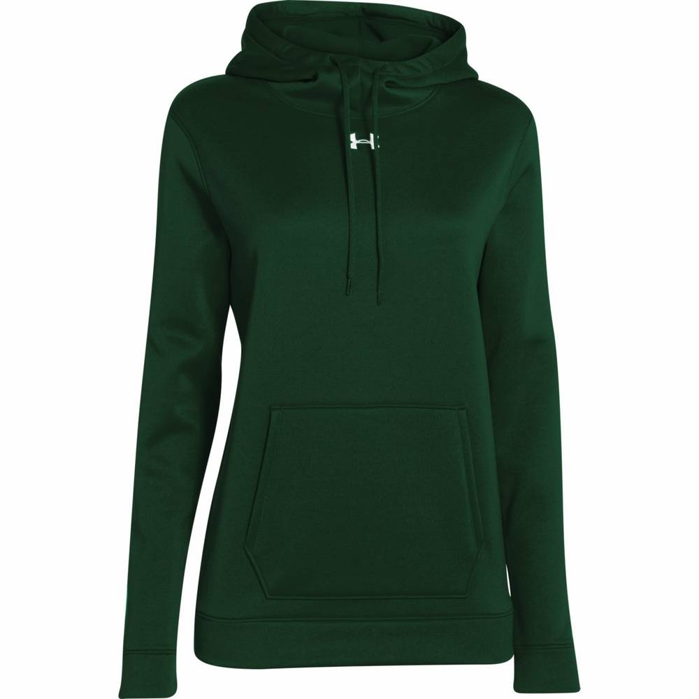 Under Armour Custom Womens Fleece Team Hoodie - FREE Embroidery