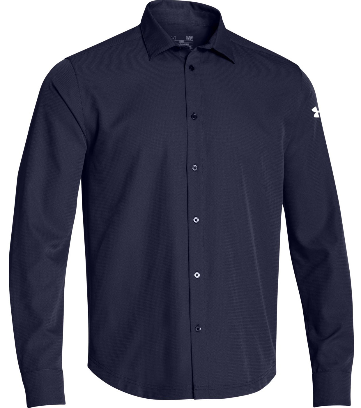 Under armour ultimate men 39 s button down long sleeve shirt for Custom sun protection shirts