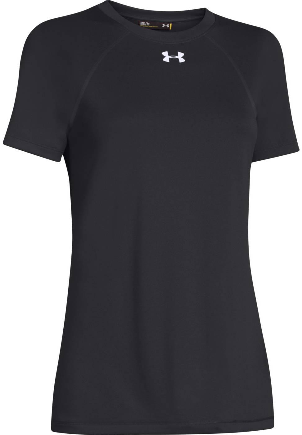 Under armour women 39 s locker t shirt for Customized under armour shirts