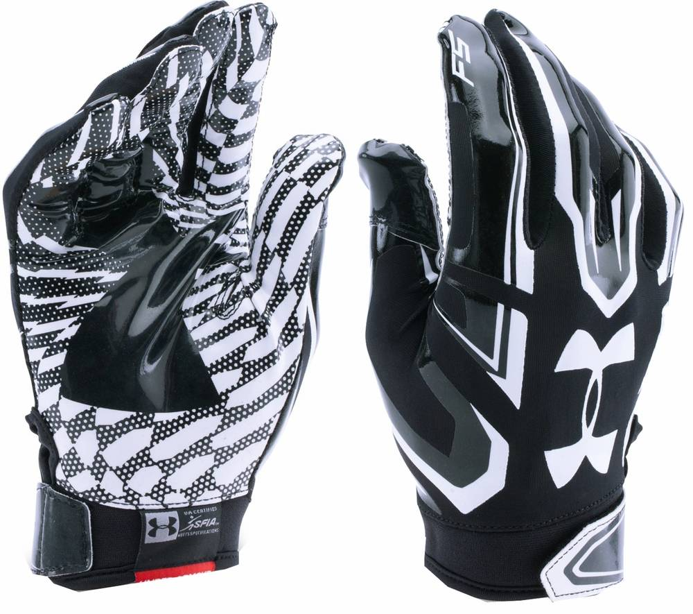 under armour flash football gloves