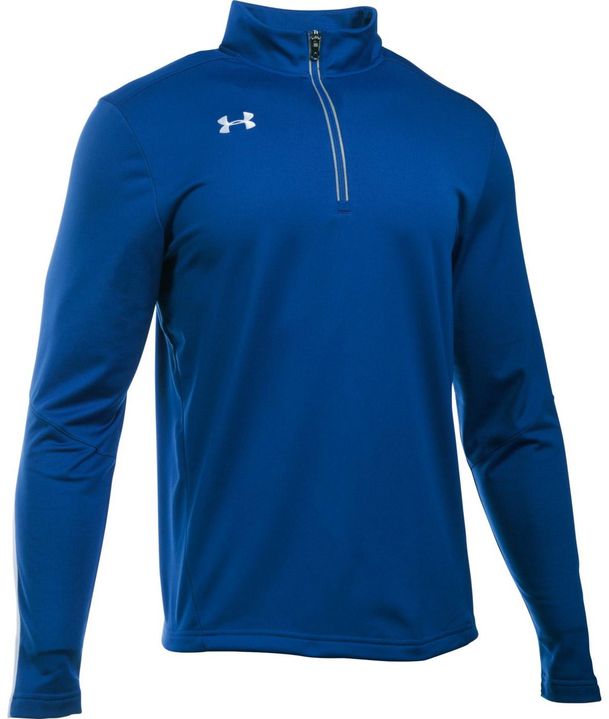 Under armour qualifier men 39 s 1 4 zip shirt for Under armour custom shirts