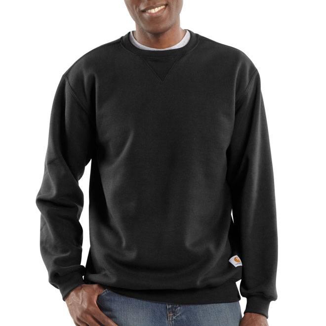 Crewneck men's sweatshirt with franklin writing table