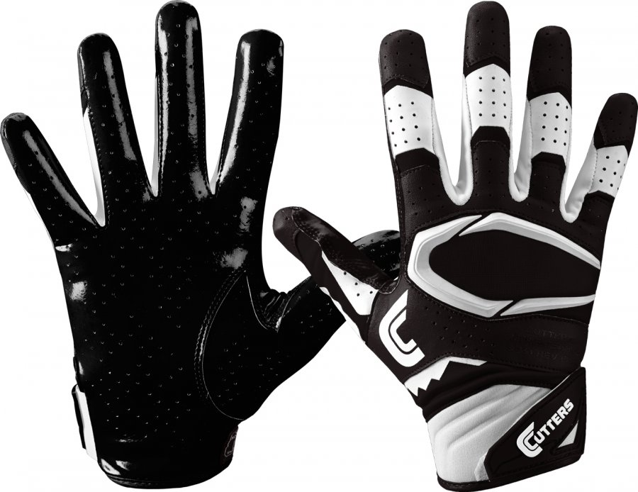 Cutters Rev Pro 2.0 Youth Football Receiver Gloves