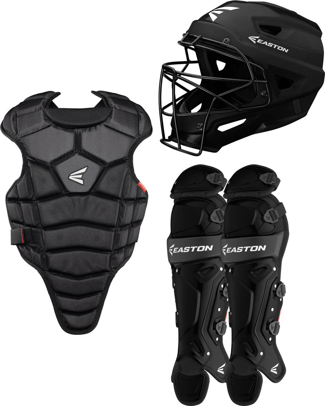 Easton M5 Qwikfit Youth Catcher's Gear Set, New