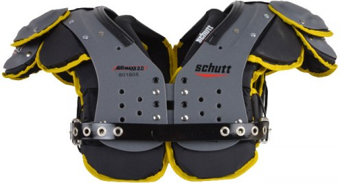 Schutt Air Maxx Flex 2.0 Custom Color Football Shoulder Pads - QB/WR