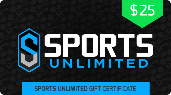 $25 Sports Unlimited Gift Certificate