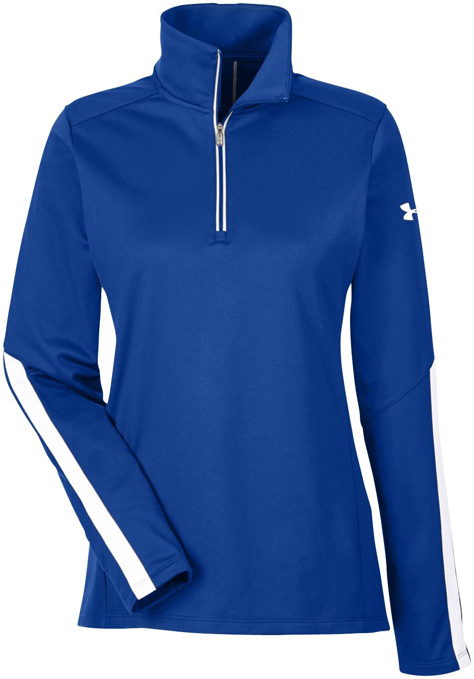 Under armour women 39 s corporate qualifier 1 4 zip for Under armor business shirts