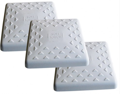 """Soft Touch Replacement 14"""" Little League Youth Baseball Bases - Set of 3"""