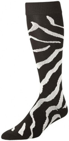 Twin City Krazisox Zebra Over-Calf Tech Socks