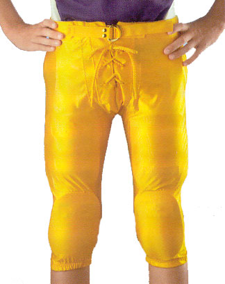 Alleson Athletic Youth Snap In Dazzle Polyester Football Pants