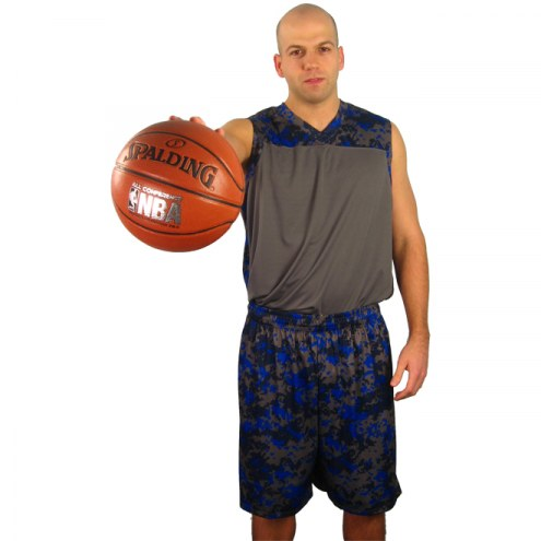 A4 Camo Basketball Jersey