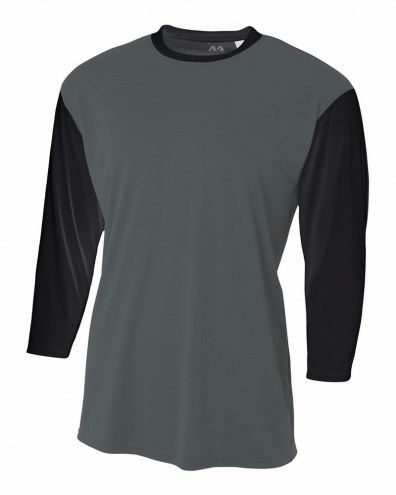 A4 3/4 Sleeve Utility Shirt
