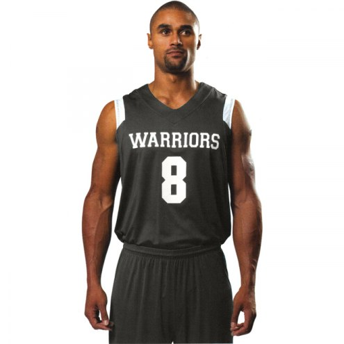 A4 NB2340 Youth Moisture Management V-Neck Muscle Custom Basketball Uniform