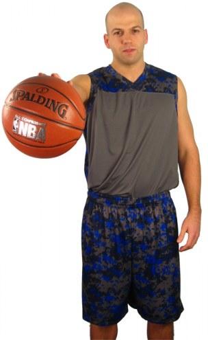 A4 Youth Camo Basketball Uniform