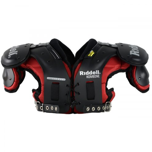 Riddell Kombine Adult Football Shoulder Pads - QB/WR/DB