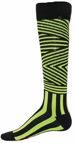 Red Lion Zig Zag Knee High Socks