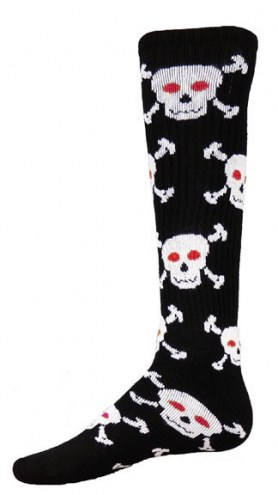 Red Lion Skull Youth Socks - Sock Size 6-8.5