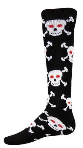 Red Lion Skull Adult Socks - Sock Size 9-11