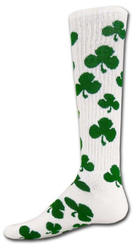 Red Lion Shamrock Youth Socks - Sock Size 6-8.5