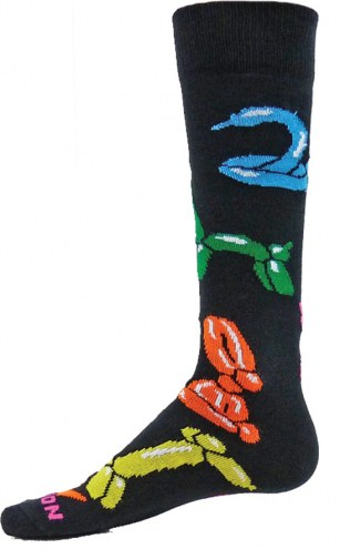 Red Lion Balloon Animals Over the Calf Socks