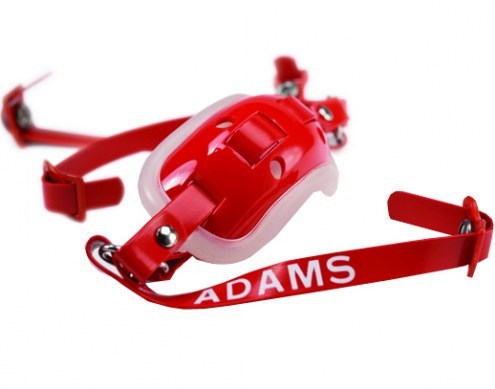 Adams Youth 4-Point High Hook Up Football Gel Chin Strap