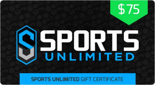 $75 Sports Unlimited Gift Certificate