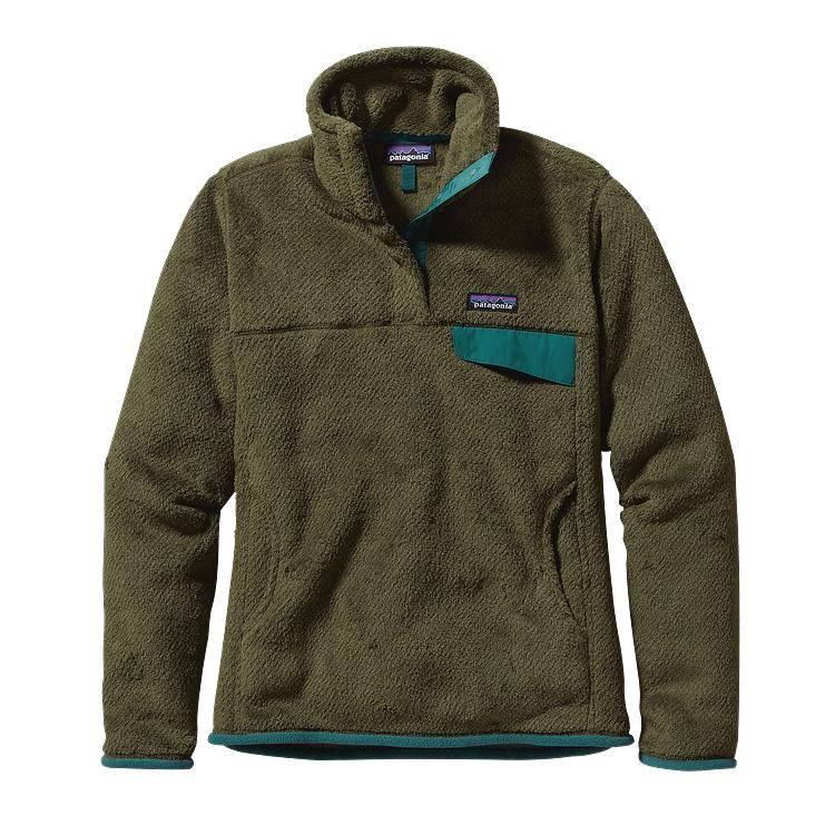 Patagonia Custom Womens Re Tool Snap T Fleece Pullover