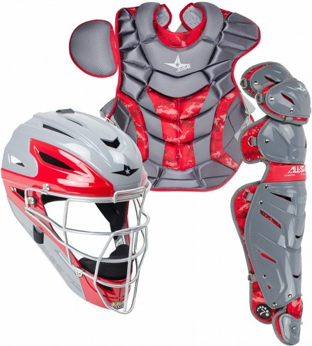 All Star System Seven Youth Camo Pro Catcher's Kit - Ages 12-16