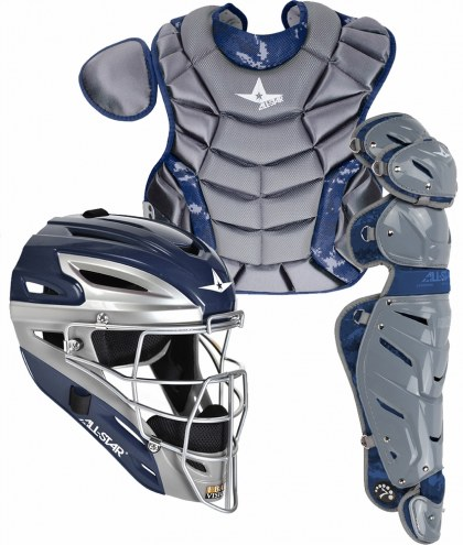 All Star System Seven Youth Camo Pro Catcher's Kit - Ages 9 -12