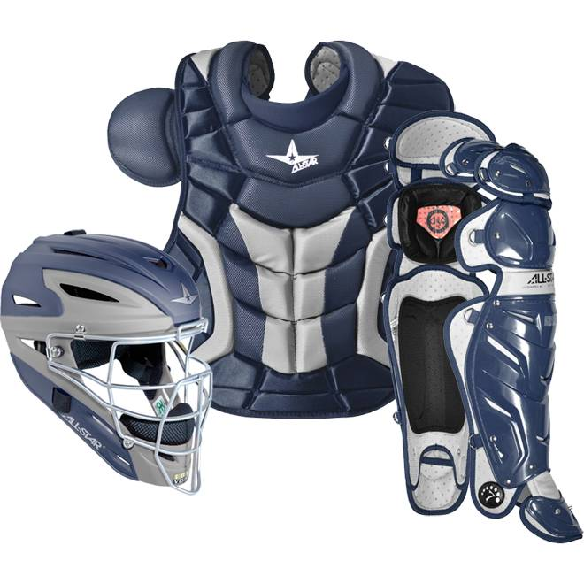 All Star System Seven Baseball Catcher S Gear Set