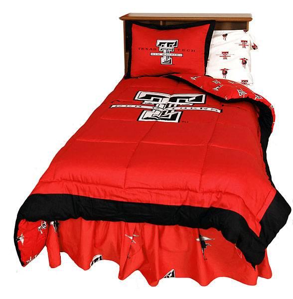 Texas Tech Bedding Queen