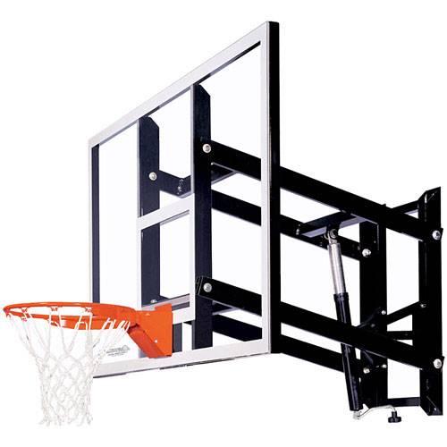 - Goalsetter GS72 Fixed Height Wall Mounted Basketball Hoop