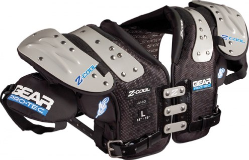 Gear Pro-Tec Z-Cool Junior Varsity Football Shoulder Pads - All Purpose