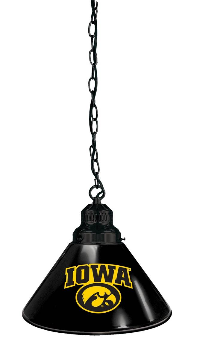 Iowa Hawkeyes Pendant Light