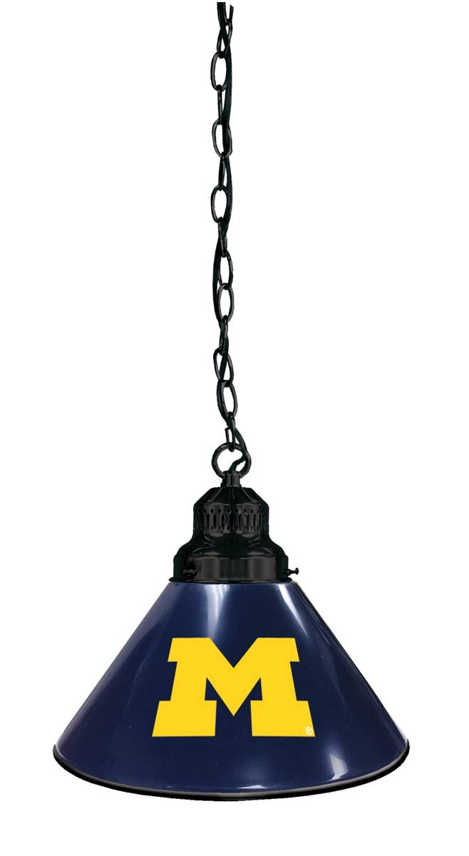 Michigan Wolverines Pendant Light