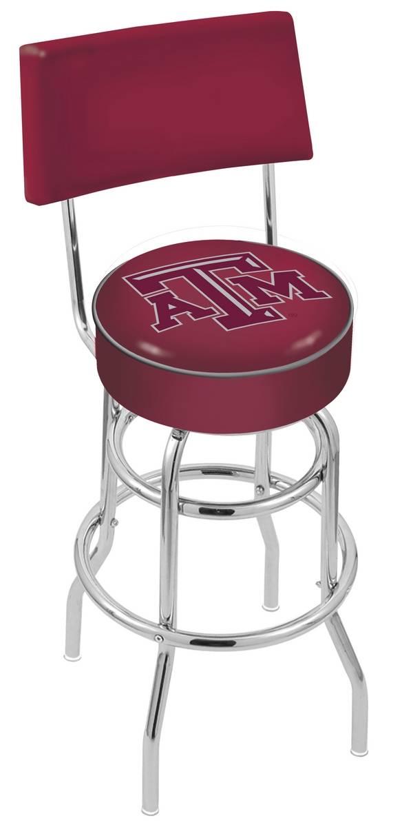 Texas AampM Aggies Chrome Double Ring Swivel Barstool with Back : 952 l7c4texa m 25mainProductImageFullSize from www.sportsunlimitedinc.com size 600 x 1200 jpeg 73kB