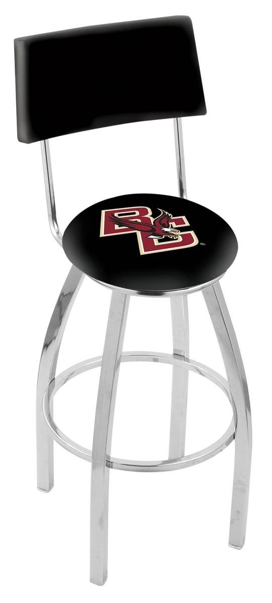 Boston College Eagles Chrome Swivel Bar Stool with Back : 952 l8c4bostnc 25mainProductImageFullSize from www.sportsunlimitedinc.com size 541 x 1200 jpeg 57kB