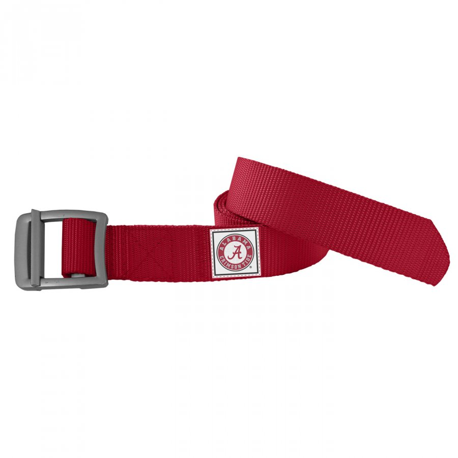 Alabama Crimson Tide Dark Red Field Belt