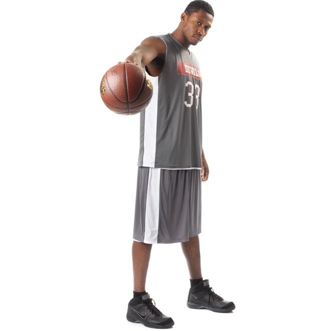 Adult basketball uniform