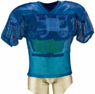 Adams Adult Porthole Mesh Practice Football Jersey with Dazzle Shoulders
