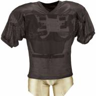 Adams Youth Porthole Mesh Practice Football Jersey with Dazzle Shoulders