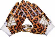 Adidas Adizero 5-Star Uncaged 6.0 Adult Football Receiver Gloves - Cheetah