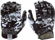 Adidas DigiCamo Adult Football Receiver Gloves
