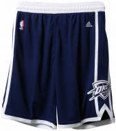 Adidas Oklahoma City Thunder Swingman Alternate Youth Basketball Shorts