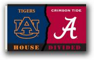 Alabama / Auburn Premium Rivalry House Divided 3' x 5' Flag