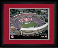 Alabama Crimson Tide 13 x 16 Personalized Framed Stadium Print