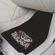 Alabama Crimson Tide 2-Piece Carpet Car Mats