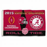 Alabama Crimson Tide 2015 Champs 3' x 5' Flag