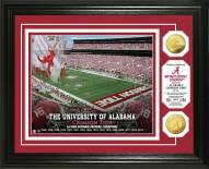 Alabama Crimson Tide 2016 National Champs Gold Coin Photo Mint
